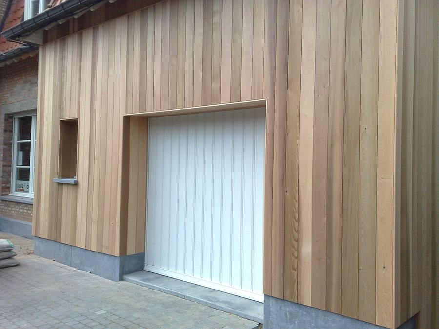 Gevelbekleding sd schrijnwerkerij interieurbouw sd schrijnwerkerij - Latwerk houten ...