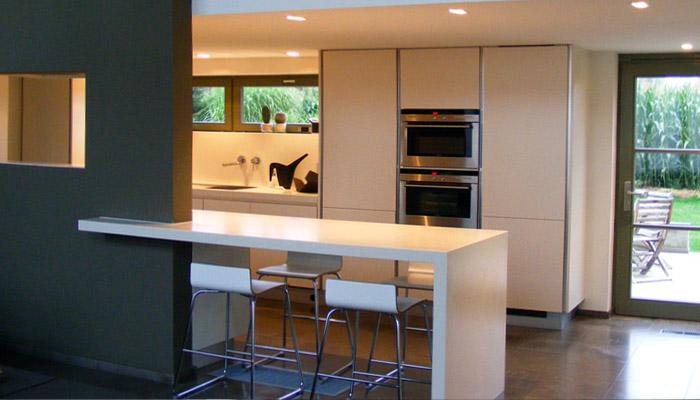 Keukens sd schrijnwerkerij interieurbouw sd for Eethoek modern