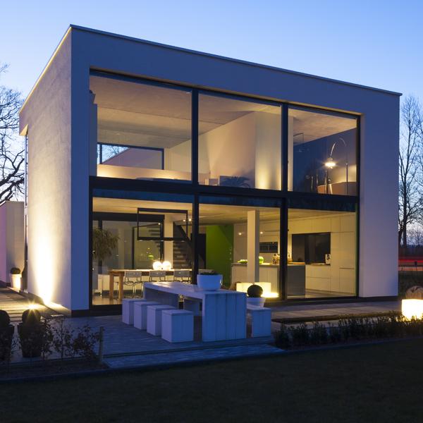 Voordelen van moderne ramen en deuren sd sd schrijnwerkerij - Zeer moderne woning ...