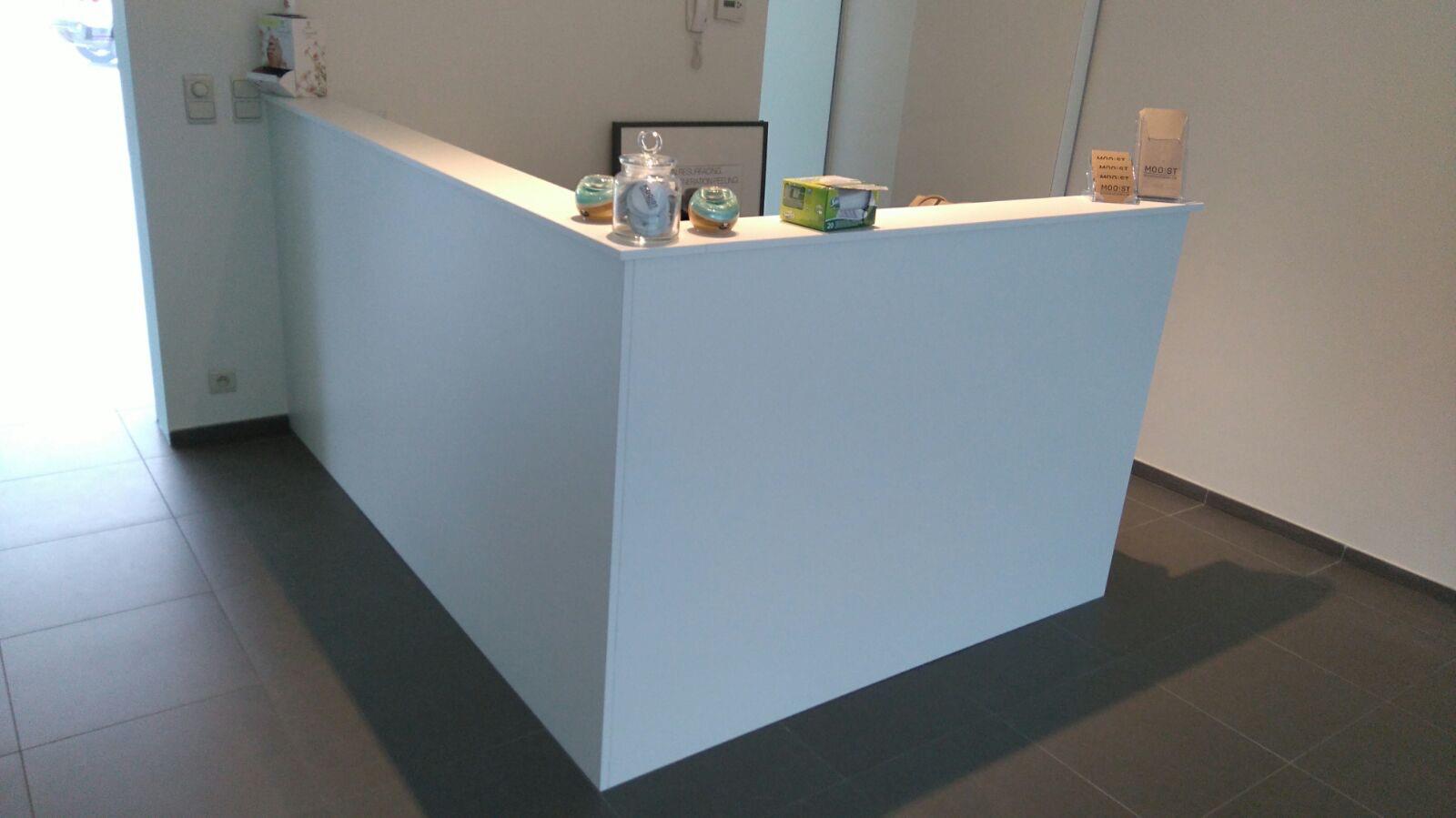 Uitvoering schoonheidssalon MOOIST te Oud-Turnhout SD Schrijnwerkerij