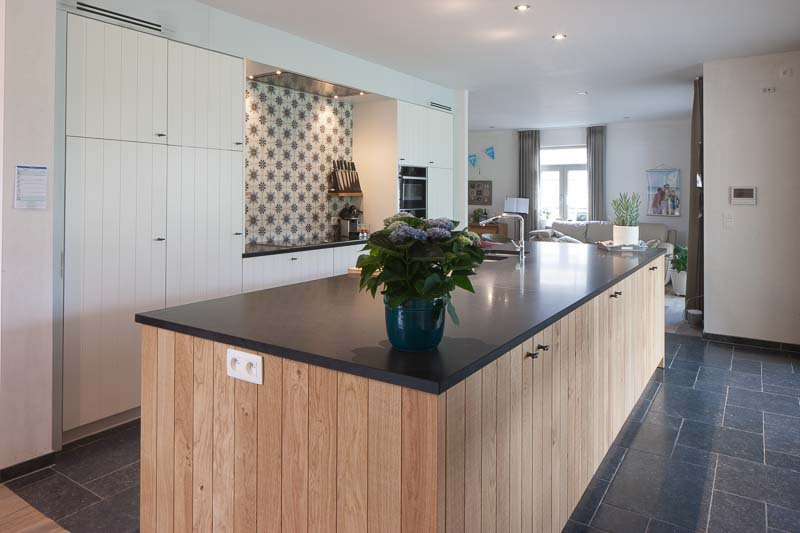 Geel De Keuken : Keuken renovatie in geel sd schrijnwerkerij & interieurbouw sd