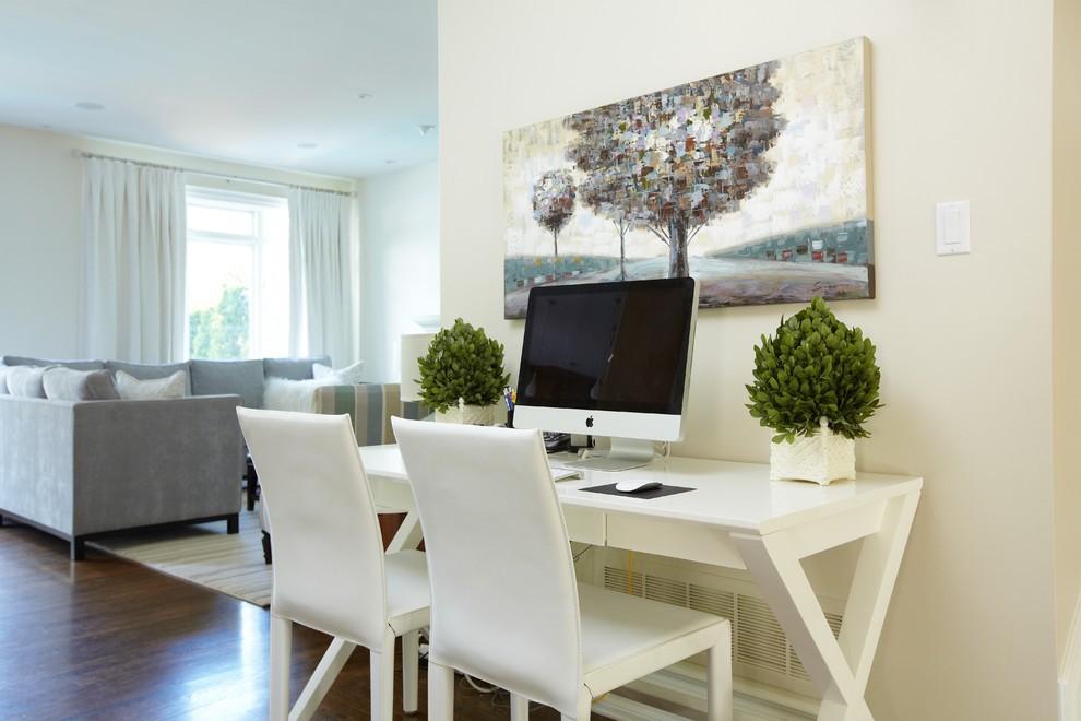 Bureau integreren in de woonkamer - SD Schrijnwerkerij ...