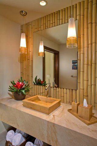 bamboe badkamer - SD Schrijnwerkerij SD Schrijnwerkerij